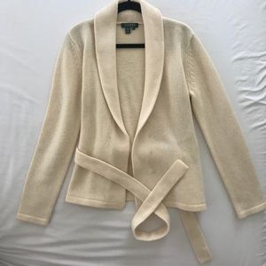 Ralph Lauren 100% Lamb Wool Cardigan